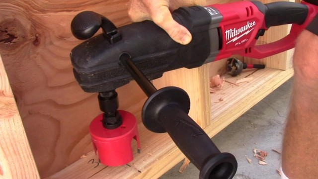 Milwaukee M18 Super Hawg Drill + Big Hawg and Switchblade Bits Review and Demonstration