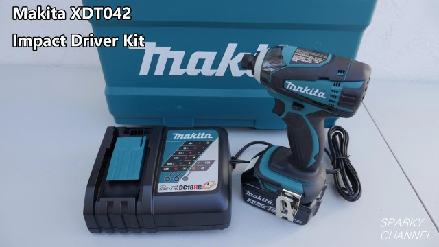 Makita XDT042 Impact Driver Kit Review and Demonstration