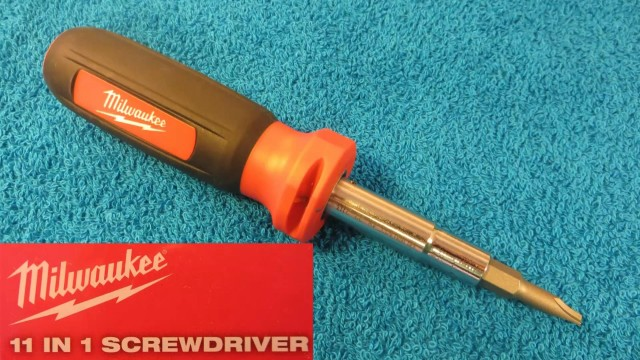 Milwaukee 11 in 1 ECX Multi-tip Screwdriver and Nut Driver Demonstration and Review