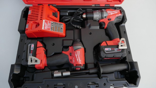 Milwaukee New M18 Fuel 2 Tool Combo Kit (2897-22 2nd Generation)