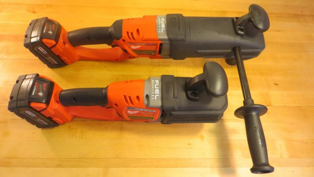 Milwaukee M18 Hole Hawg v M18 Super Hawg Comparison, Review and Demonstration