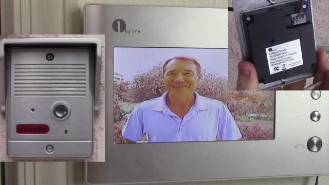 1byOne Video Intercom Doorbell System Installation and Demonstration (VP-0634)