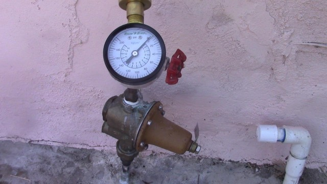 How To Test and Adjust House Water Pressure