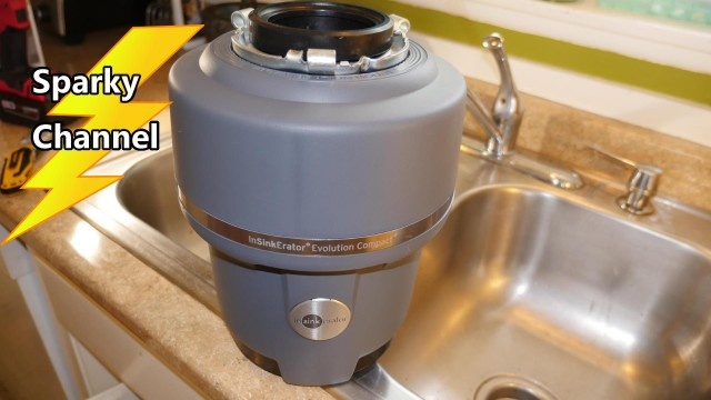 How to Install the InSinkErator Evolution Garbage Disposal + Air Gap Installation