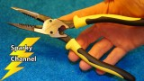 Klein All Purpose Pliers With Crimper J207-8CR Review and Demonstration