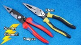 Knipex vs Klein Multi Purpose Electrical Installation Pliers