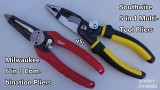 Milwaukee 6 in 1 vs Southwire 5 in 1 Multi-Tool Electrical Installation Pliers