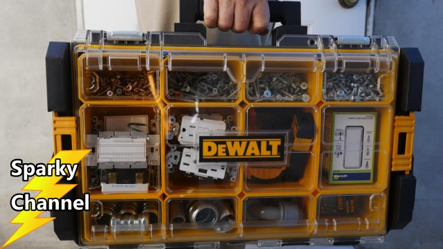 DeWalt ToughSystem Organizer DWST08202 Review