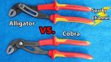Knipex Alligator vs Cobra Water Pump Pliers