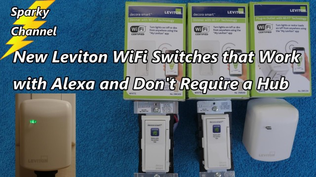 How to Setup the New Leviton Plug-in Dimmer With Wifi Technology DW3HL