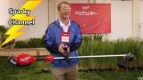 Milwaukee M18 Fuel New String Trimmer from Milwaukee Tool Symposium