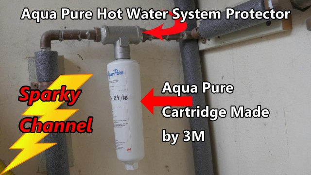 Aqua Pure Hot Water System Protector Cartridge Replacement