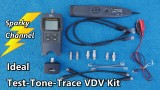 Ideal Test Tone Trace Voice Data Video Kit 33-866 Review and Demonstration