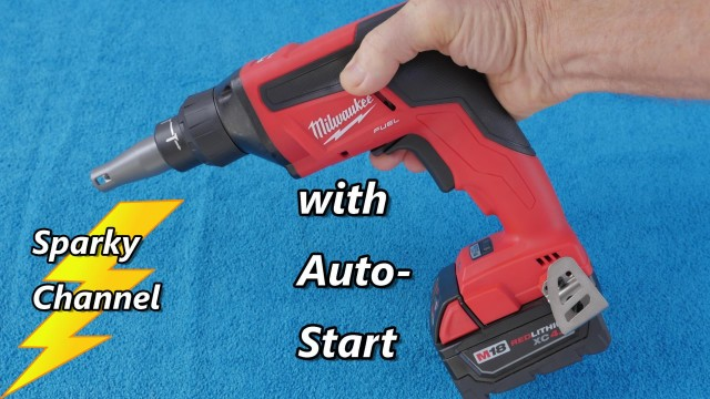Milwaukee M18 Fuel Drywall Screwgun 2866-20 Review and Demonstration