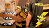 DeWalt 20V Max DCE150D1 Cable Cutting Tool From Nashville Media Event 2017
