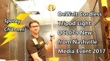 DeWalt 20V Max Tripod Light DCL079 New from Nashville Media Event