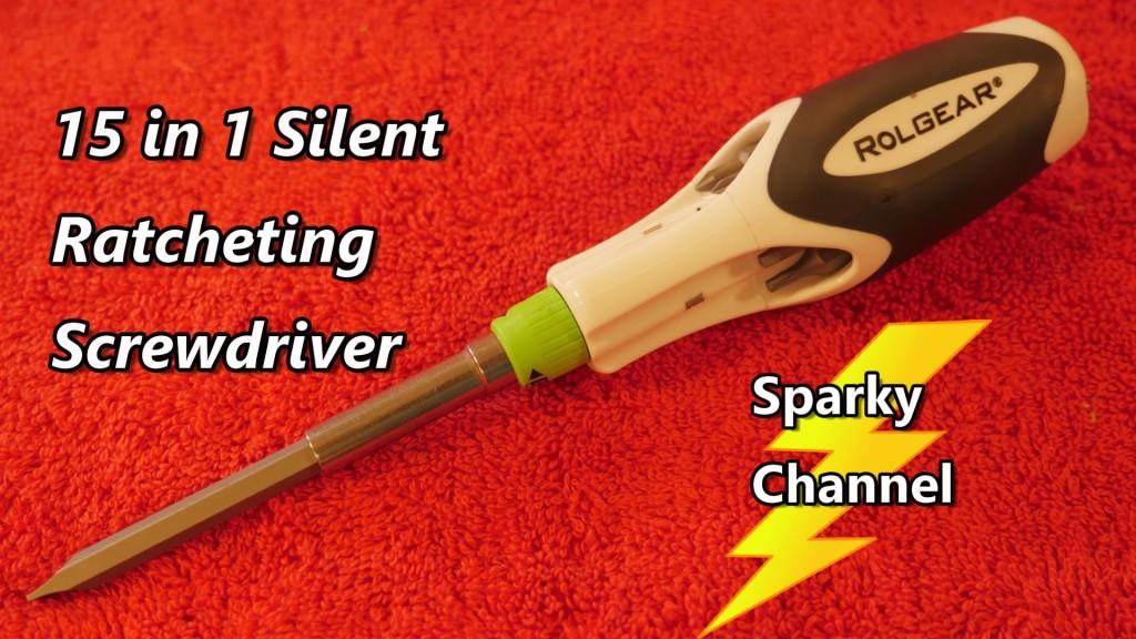 4 SILENT SMOOTH Ratchet S2 Steel Bit Nut Driver//Screwdriver Rolgear