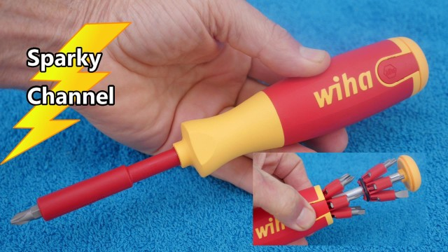 Wiha New 14 in 1 1000V Insulated Pop-Up Screwdriver 38051