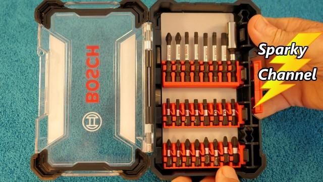 "Bosch 24 Piece ""Impact Tough"" Screwdriving Custom Case System Set SDMS24"